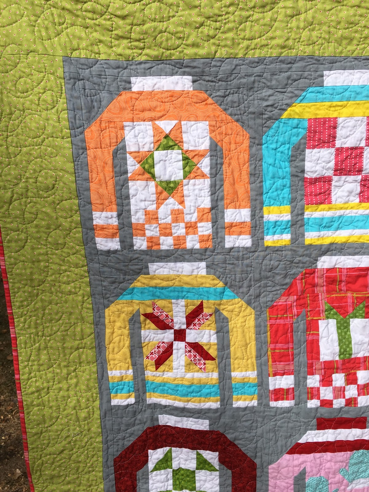 Tanya Quilts In CO Ugly Xmas Sweater Quilt Finished