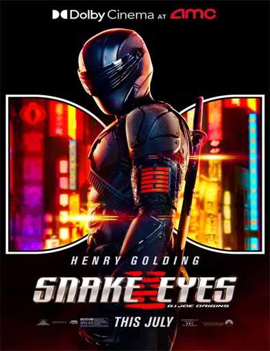 Pelicula Snake Eyes: G.I. Joe Origins