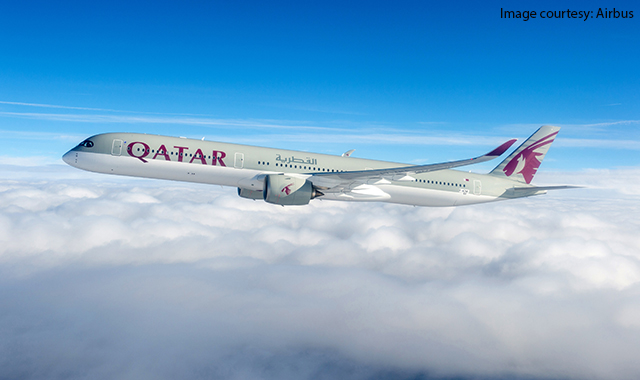 Qatar Airways receives world's first Airbus A350