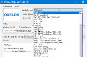 Oxelon Media Converter Gratis dan Mudah