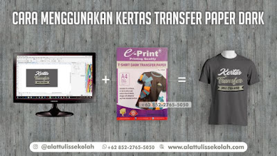 +62 852-2765-5050 ,cara menggunakan kertas trasnfer paper dark