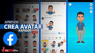 crear avatar en facebook