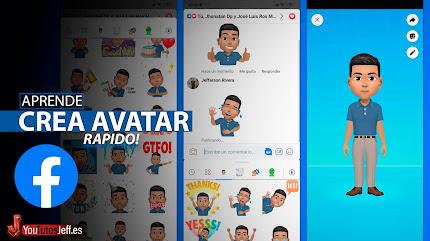 Como Crear Avatar en Facebook