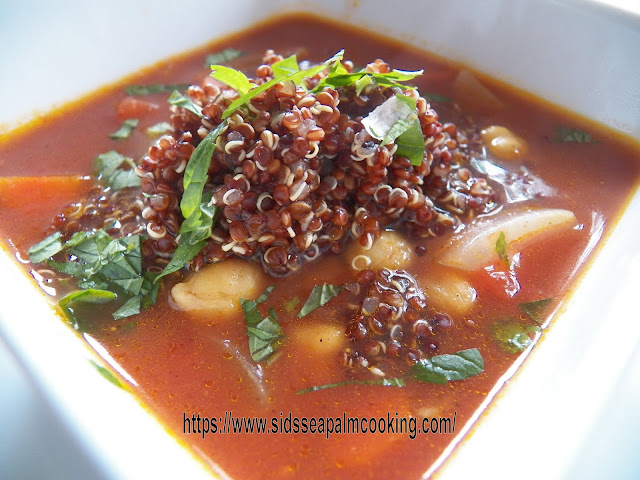 Moroccan Tomato and Chickpea Soup