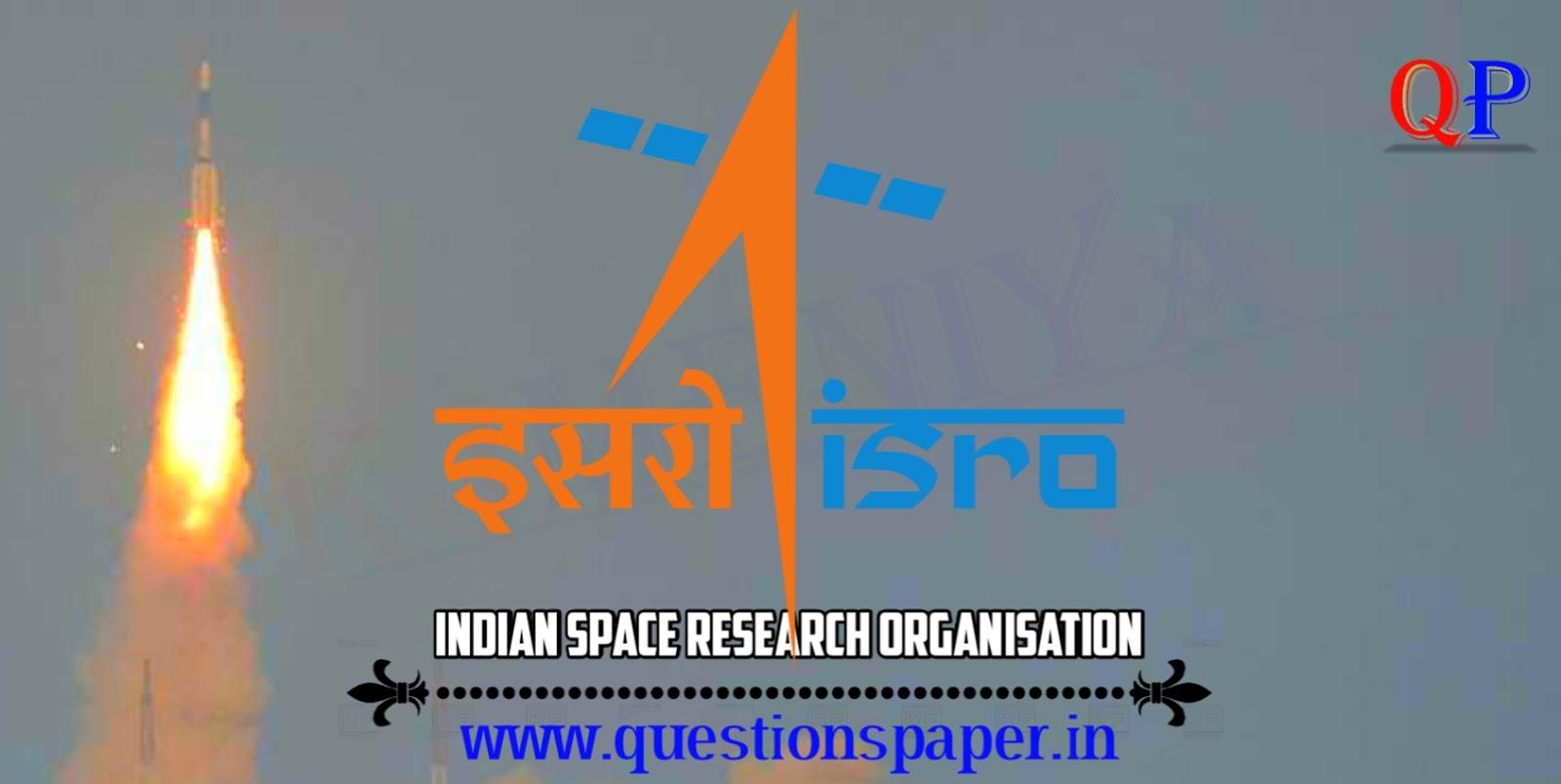 ISRO Scientist/Engineer 'SC' (CEPO) – 2019 Question Paper (10-03-2019)