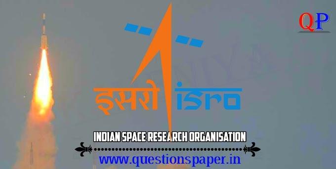 ISRO Scientist/Engineer 'SC' (CEPO) - 2019 Question Paper (10-03-2019)