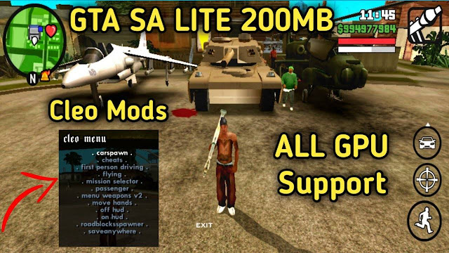 2021 GTA SA Lite Apk Download