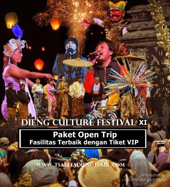 Open Trip Dieng Culture Festival 2020