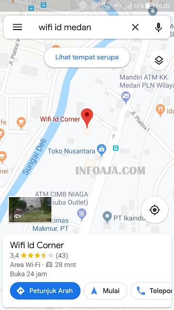 Wifi.id Google Maps