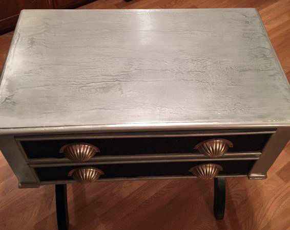 Craigslist Artisan Painted Accent Table Has It All
