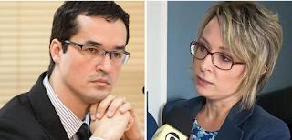 """""""Temos que proteger a Érika"""", disse Deltan, ao saber que delegada forjou depoimento"""