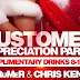 Customer Appreciation Party, Thursday December 22nd at The Nutty Irishman