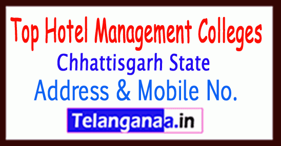 Top Hotel Management Colleges in Chhattisgarh