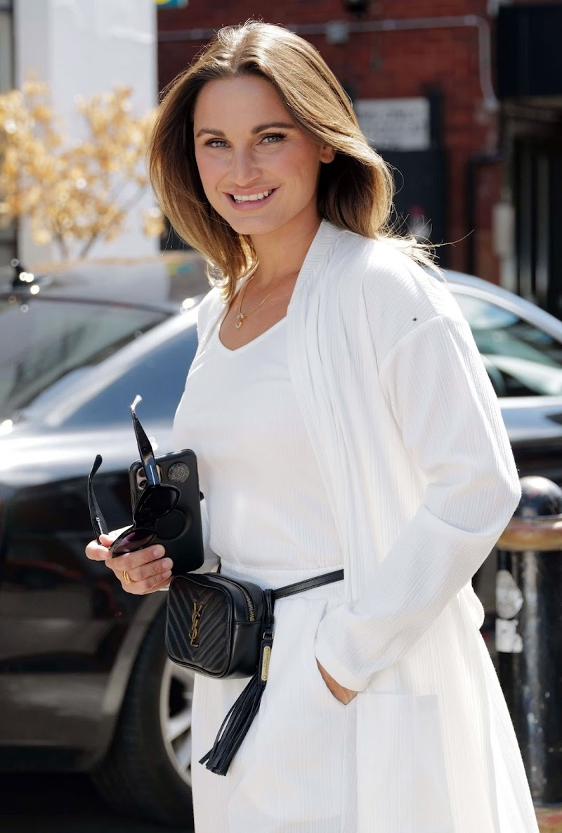 Sam Faiers Clicked Outside in London 22 Jun -2020