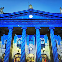 Images of Dublin at Christmas: The General Post Office (GPO)