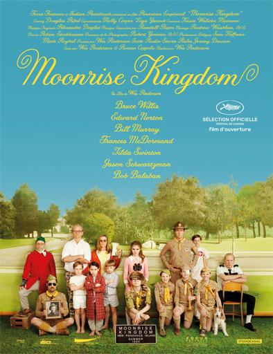 Ver Un reino bajo la luna (Moonrise Kingdom) (2012) Online