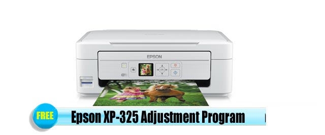 Epson  XP-325 Adjustment Program