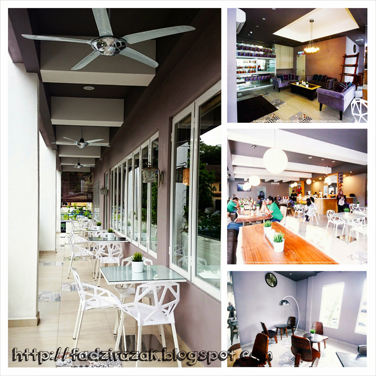 Dekorasi Tanah Aina Cafe