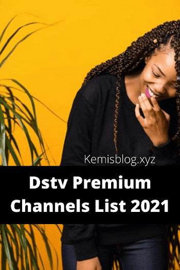 DStv Premium channels 2021