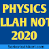 Physics Wallah Alakh Pandey Notes Download