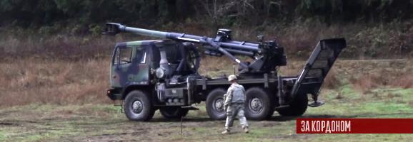 Армія США показала як стріляє нова 155-мм САУ Brutus