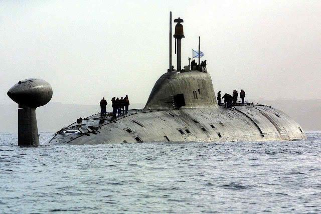 Submarino nuclear russo teria afundado em águas suecas