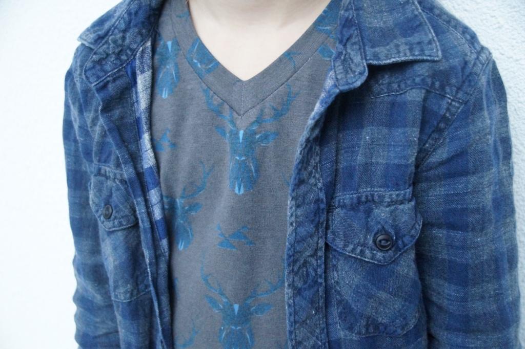 ADV Tee (a Sofilantjes pattern) sewn by Huisje Boompje Boefjes