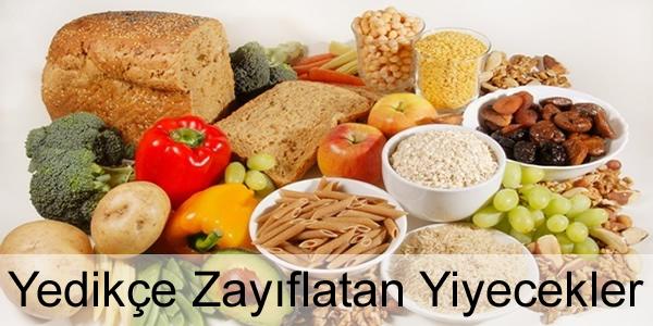 Yedikçe Zayıflatan Yiyecekler Nelerdir?