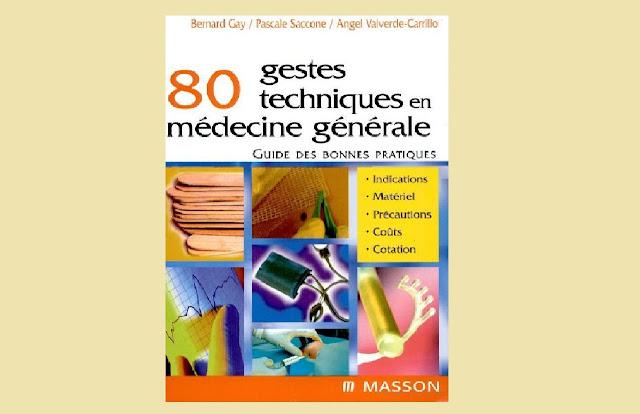 80 gestes techniques en médecine PDF;