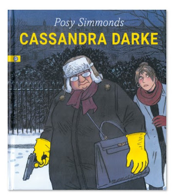 Cassandra Darke de Posy Simmonds comic novela grafica