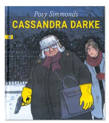 Cassandra Darke de Posy Simmonds comic novela grafica