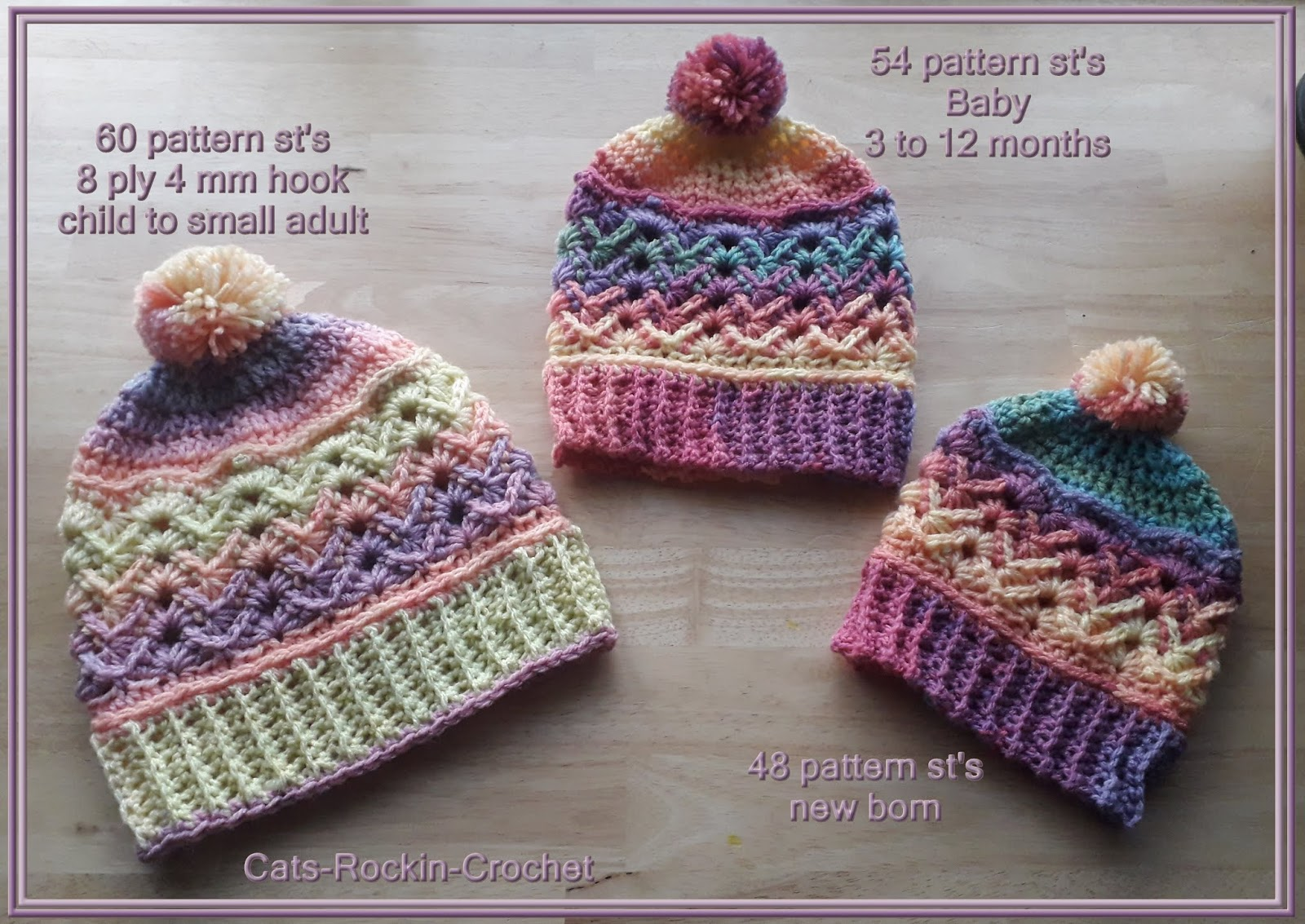 1e204e33ecd Free Crochet Patterns By Cats-Rockin-Crochet