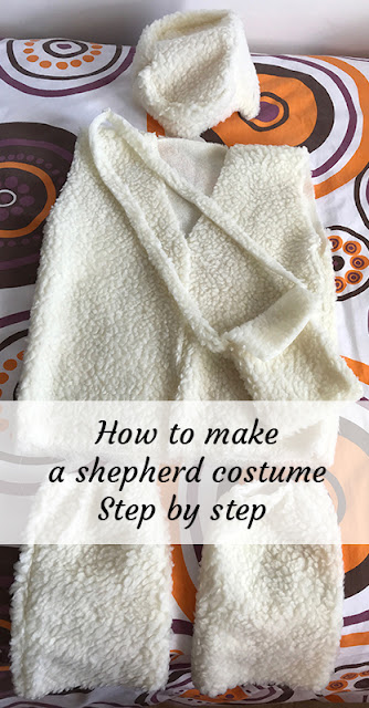 How to sew shepherd costume