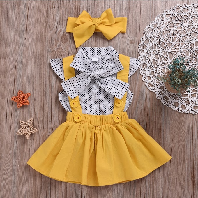 Baby Girls Clothes Sets 2020 Summer