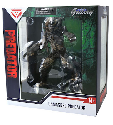 San Diego Comic-Con 2020 Exclusive Predator Unmasked Edition Gallery PVC Statue by Diamond Select Toys