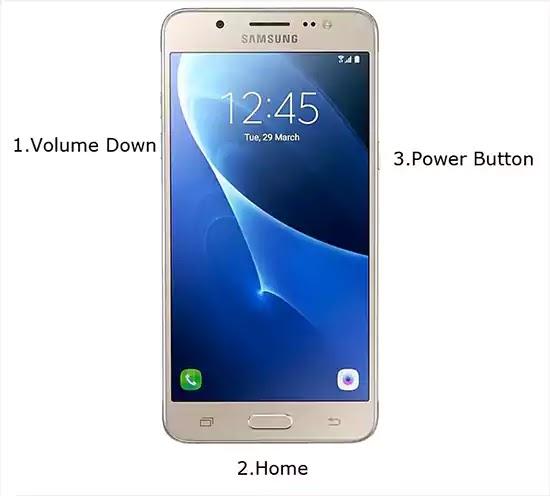 وضع تنزيل Samsung J5 2016