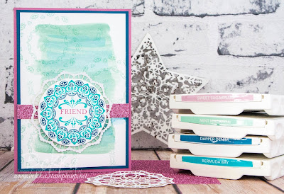 Make A Medallion Friendship Card for those who have joined the Stampin' Super Stars - join here now