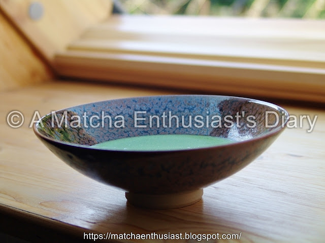 Organically cultivated Matcha Gold by Marukyu Koyama-en (2016 © A Matcha Enthusiast's Diary)