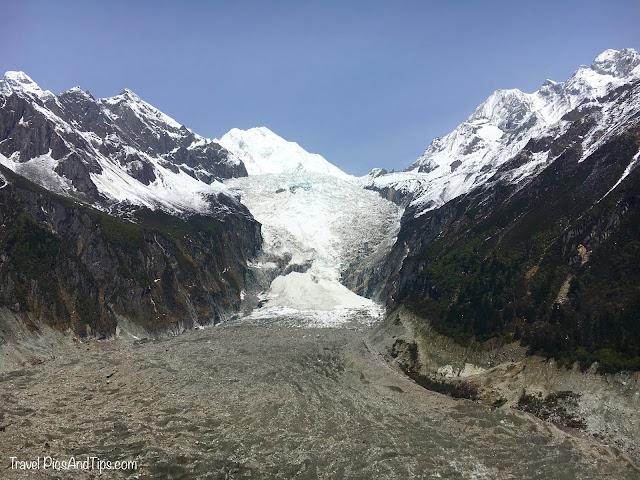 Glacier Hailuogou - Montagnes et régions tibétaines du Sichuan en Chine