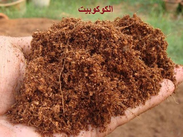 مادة الكوكوبيت coco peat