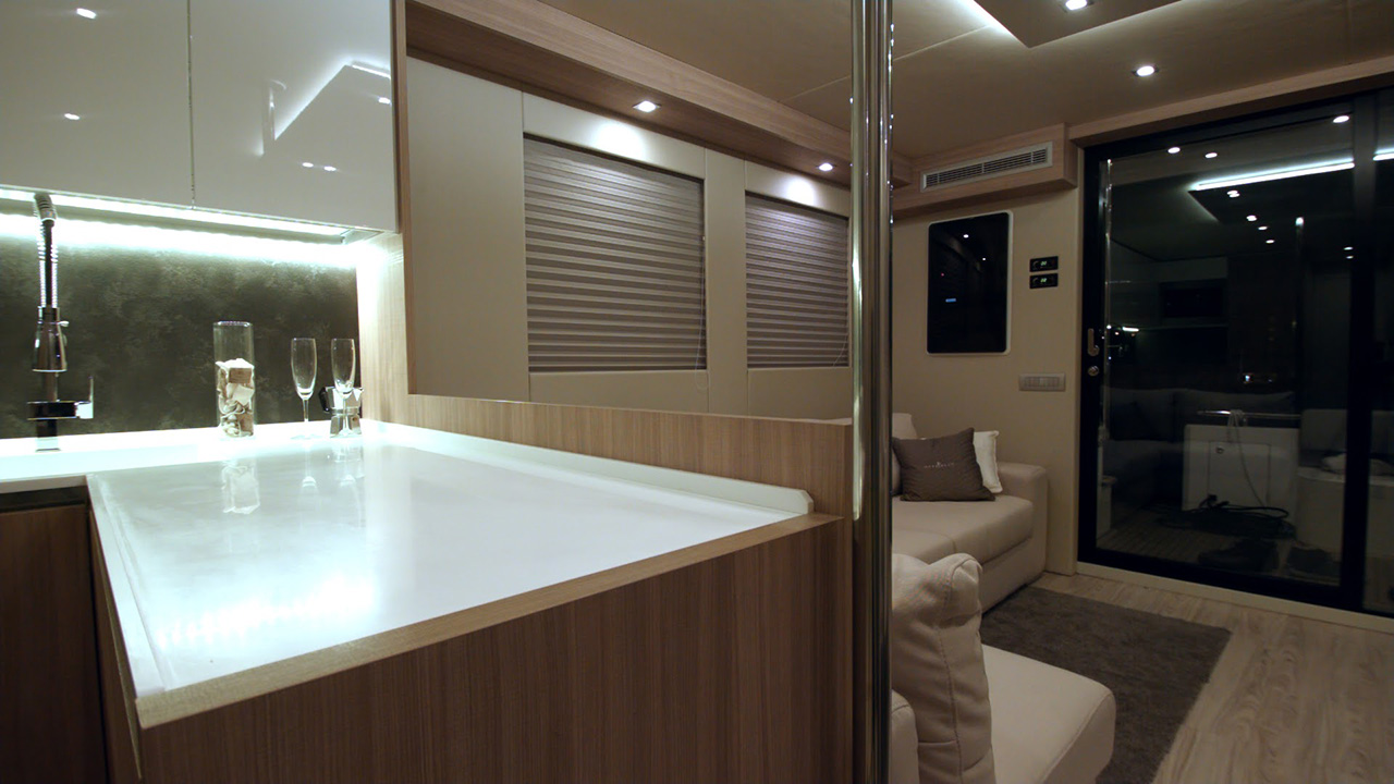 Captained Charter On Overblue 46 Luxury Power Yacht