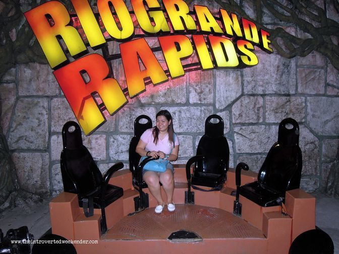 Outside the Rio Grande Rapids at Enchanted Kingdom