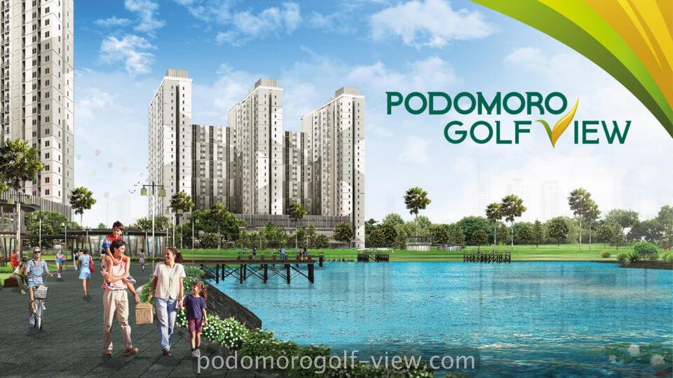 Apartemen Podomoro Golf View Dijual Rp. 299 Jutaan Tower Terbaru Guarea