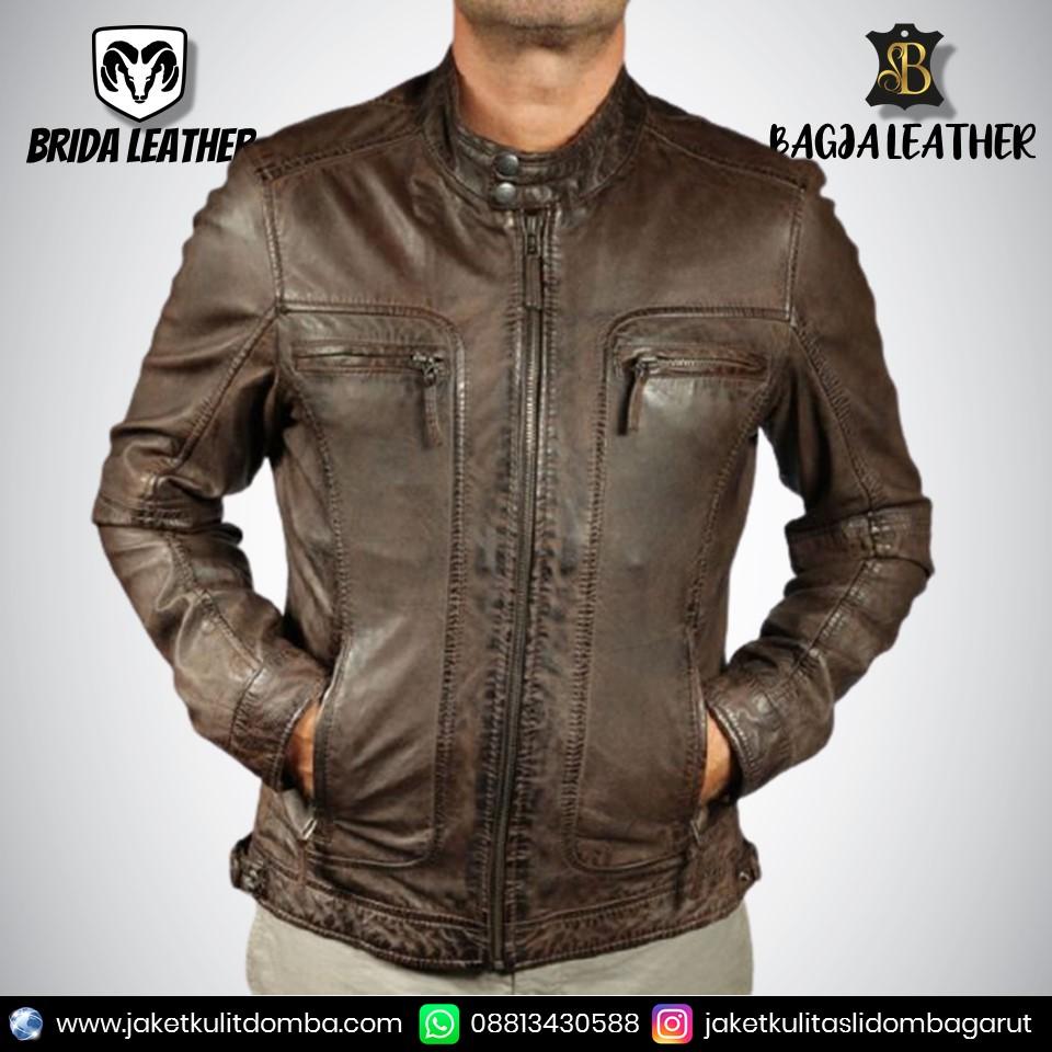 jual jaket kulit domba asli