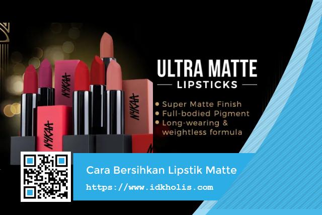 Cara Membersihkan Lipstik Matte Dengan Mudah