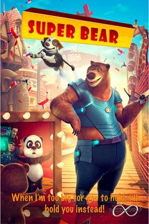 Watch Online Free Super Bear (2019) 650MB Hindi Dual Audio 720p WEBRip