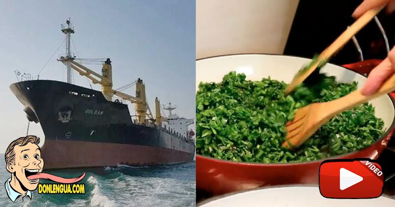 Llega otro buque iraní cargado de comida persa para un nuevo supermercado
