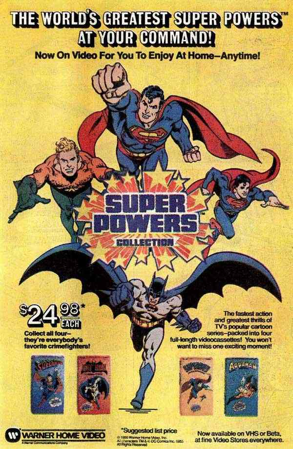 Metropolis Video Store: Super Powers Collection (Warner Home