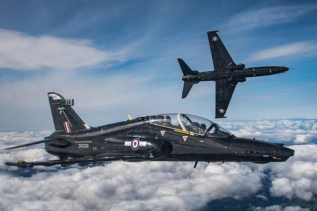 UK Qatar Hawk training squadron