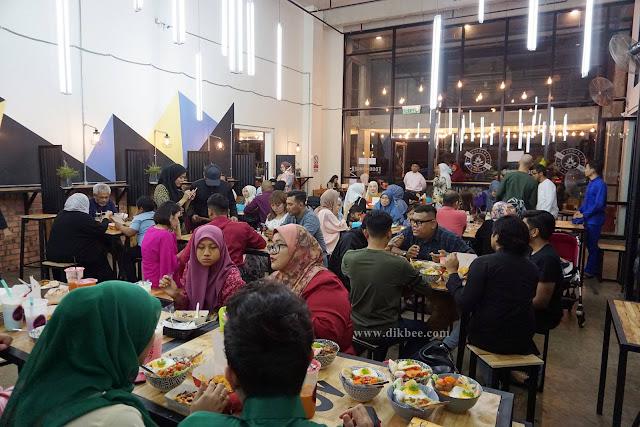 Lepak Santai Dengan Makanan Enak Di Foodmonger Cyberjaya